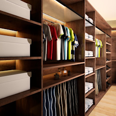 Dormitorios de estilo moderno de Luis Escobar Interiorismo Moderno