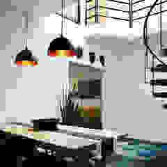 Luminosa ™ Modern dining room Solid Wood Metallic/Silver