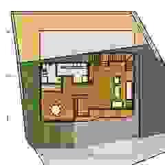 日式木屋別墅 地興木屋有限公司 Asian style living room