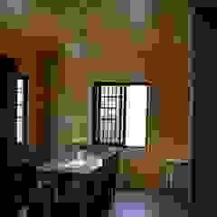 別墅餐廳內裝 地興木屋有限公司 Asian style dining room