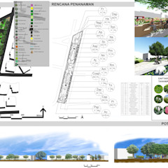 de 1mm studio | Landscape Design Moderno