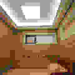 경남 하북면 예술인촌 전원주택 컨트리스타일 미디어 룸 by 에스디자인 컨트리