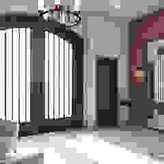 Rustic style corridor, hallway & stairs by Cynthia Barragán Arquitecta Rustic