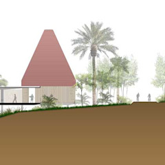 من Taller Arquitectura Objetiva إستوائي بوص/ بامبو Green