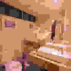 Casa de Campo Gravatá Banheiros campestres por Marilia Wanderley Arquitetura Campestre