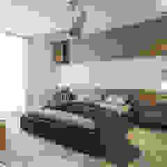Aurora Modern style bedroom by Verde Design Lab Modern