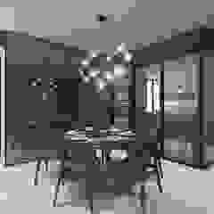 Villa Crystal I Scandinavian style dining room by Verde Design Lab Scandinavian