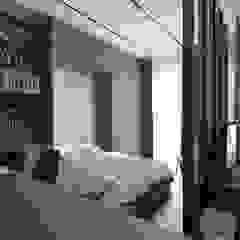 28 B L V D Rustic style bedroom by Verde Design Lab Rustic