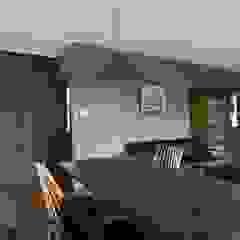 coil松村一輝建設計事務所 Modern dining room