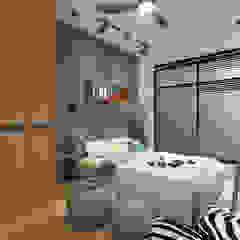 Legend Height Rustic style bedroom by Verde Design Lab Rustic