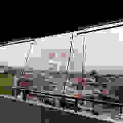 Braja Awning & Canopy Balkon, Veranda & TerrasseAccessoires und Dekoration Plastik Transparent