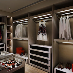 Classic style dressing rooms by 鈞亨國際設計有限公司 Classic