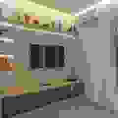 Residência em Santos/SP Salas multimídia industriais por Faconti Arquitetura e Construção Industrial