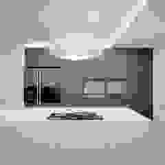 Kuchnia w domu jednorodzinnym w Tarnowskich Górach od Archi group Adam Kuropatwa Minimalistyczny