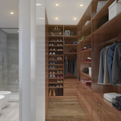 Classic style dressing rooms by Xline 3D Digital Architecture Classic