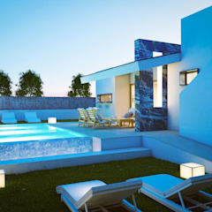 de angelgalera. Arquitectura y render Mediterráneo