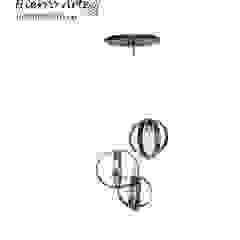 industrial  by Hierro Arte Iluminación EIRL, Industrial Metal