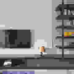 沐意 现代客厅設計點子、靈感 & 圖片 根據 寬宸室內設計有限公司 現代風