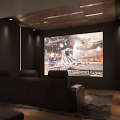 Vivaldi Mont Kiara Modern style media rooms by Norm designhaus Modern