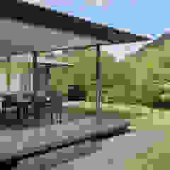 توسط atelier137 ARCHITECTURAL DESIGN OFFICE آسیایی چوب Wood effect