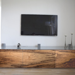 luanna design Living roomTV stands & cabinets Wood Grey