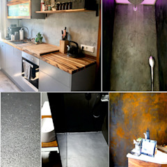 luanna design Walls Concrete Grey