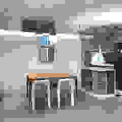 Illumination Terrace | Tai Hang Road | Hong Kong Modern dining room by Nelson W Design Modern