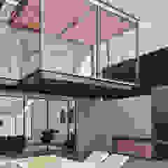 CASA ILO 2018 Balcones y terrazas minimalistas de TECTONICA STUDIO SAC Minimalista