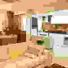 Apartamento recém casados por ANE DE CONTO arq. + interiores Moderno