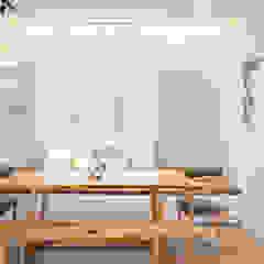 NAUTICA LAKESUITES CONDOMINIUM , KL Scandinavian style dining room by BND STUDIO Scandinavian