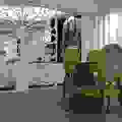 Apartamento no centro de Lisboa Salas de jantar tropicais por Angelourenzzo - Interior Design Tropical