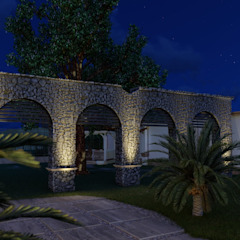 Paredes e pisos coloniais por BUILD ARQUITECTURA Colonial