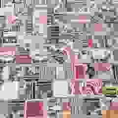Remodelação - Hall de entrada diferente Espaços comerciais eclécticos por Inês Florindo Lopes Eclético Cerâmica