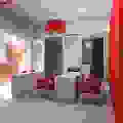 Cabeleireiro Lojas e Espaços comerciais minimalistas por sjjotarquitectura Minimalista MDF