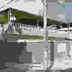 Projeto Residencial [ Fachada + Gourmet + Paisagismo ] por Santi Arquitetura e Engenharia Colonial