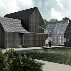 Growhouse by Define Architects Scandinavian لکڑی Wood effect