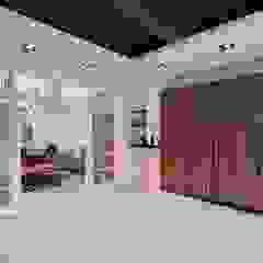 Garajes escandinavos de 層層室內裝修設計有限公司 Escandinavo