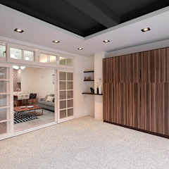 Scandinavian style garage/shed by 層層室內裝修設計有限公司 Scandinavian