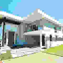 ANDRÉ PACHECO ARQUITETURA Single family home Bricks Grey
