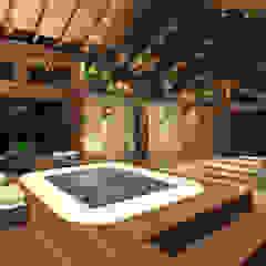 Landelijke spa's van Grecco + Marques Arquitetos Landelijk