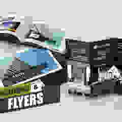 Brochure Design Ideas By Yantram Real Estate Web Development - New York, USA de Yantram Architectural Design Studio Clásico Cerámico