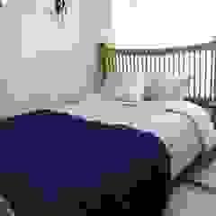 집처럼? 호텔처럼 48PY Renovation 에클레틱 침실 by 더디자인 the dsgn 에클레틱 (Eclectic)