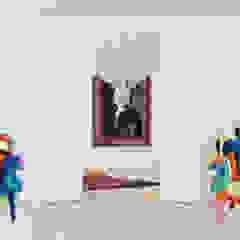 Inspirações Corredores, halls e escadas clássicos por Atelier3 Clássico