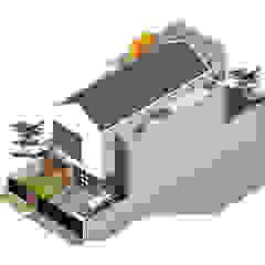 BBR House 1 Oleh Rekabentuk ID Modern Beton