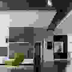 MONOCHROMATIC MINIMALIST THEME Minimalist corridor, hallway & stairs by Singapore Carpentry Interior Design Pte Ltd Minimalist