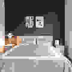 Industrial style bedroom by 果仁室內裝修設計有限公司 Industrial