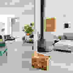 Stoere loft sfeer Eclectische woonkamers van Jolanda Knook interieurvormgeving Eclectisch Beton