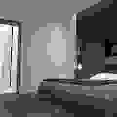 5 Casas en Miami Cuartos de estilo minimalista de RRA Arquitectura Minimalista Madera Acabado en madera