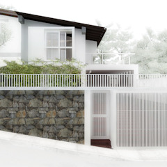 de RRA Arquitectura Minimalista Piedra
