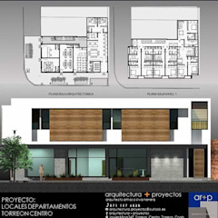 arquitectura+proyectos Commercial Spaces Concrete White